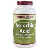 Ascorbic Acid 100% Pure Vitamin C Powder 16 oz