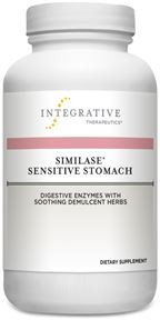 Similase® Sensitive Stomach (Integrative Therapeutics)180 Veg Capsules