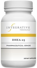 DHEA-25 (Integrative Therapeutics) 60 Vegetable Capsules