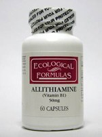 Allithiamine 60 capsules by Ecological Formulas.