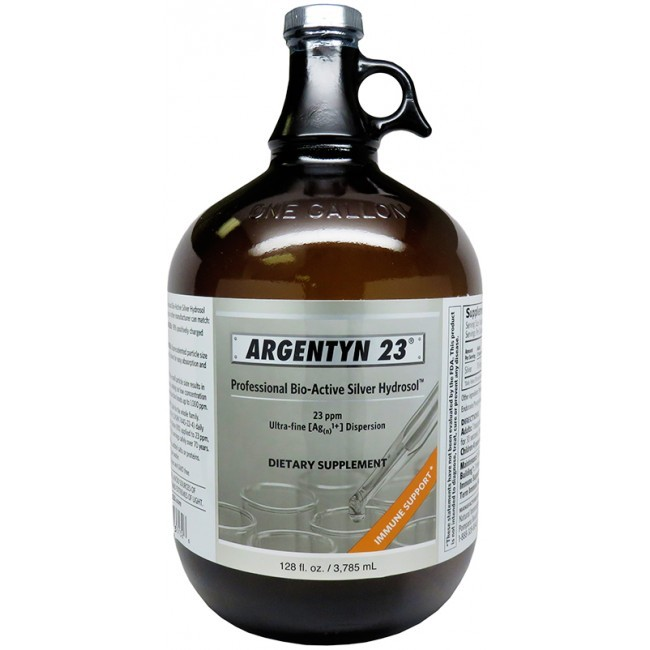 Argentyn 23 (Natural Immunogenics) 1 Gallon 128 Fl oz