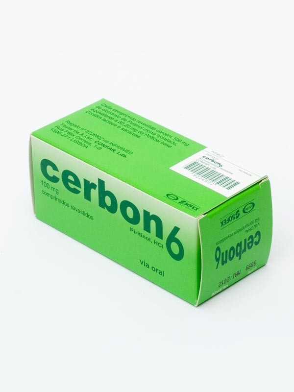 Cerbon 6  60 tablets  International Antiaging Systems