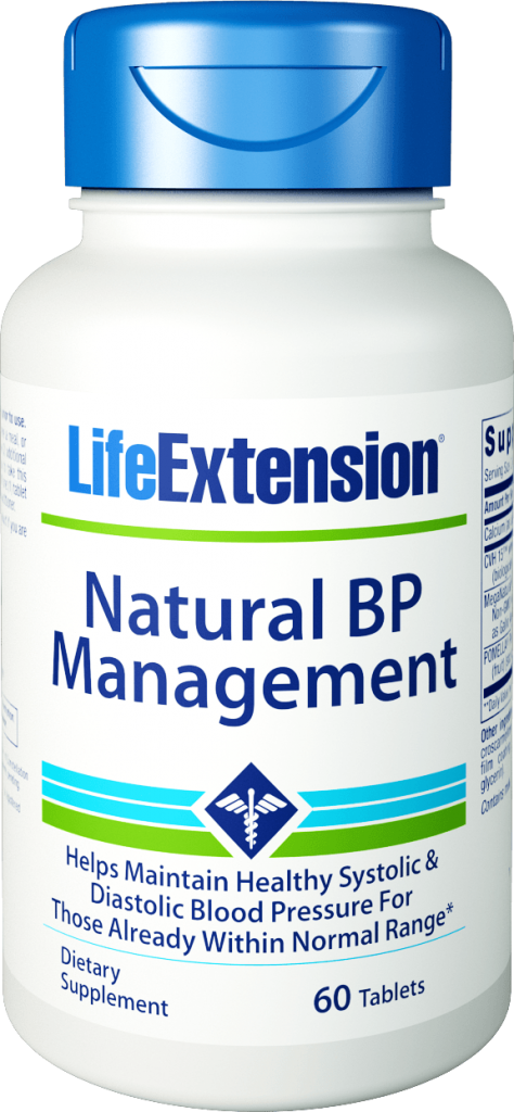 Natural BP Management 60 tablets (by Life Extension)