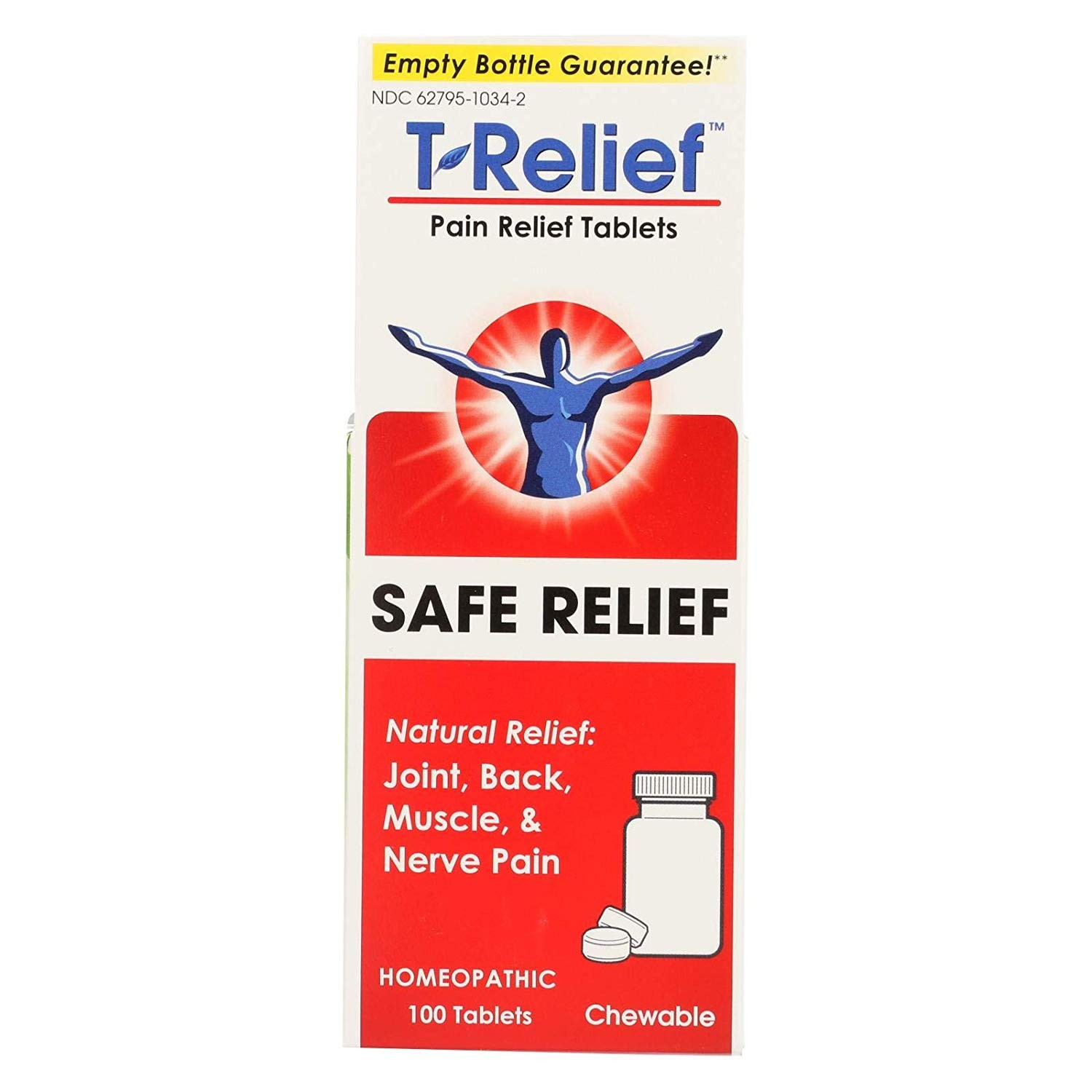 T-Relief (Traumeel) 100 tablets (Pack of 2)