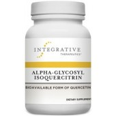 Alpha-Glycosyl Isoquercitrin(Integrative Therapeutics)60 Vegetable Capsules