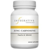 Zinc-Carnosine - ( Integrative Therapeutics )60 Vegetable Capsules