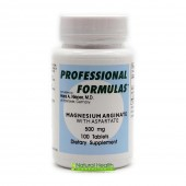 Magnesium Arginate with Aspartate (Professional Formulas) 100 tablets