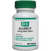 Allergy tablets 100 tablets( by BHI)