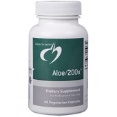 Aloe/200x 500 mg(Designs for Health.)60 capsules