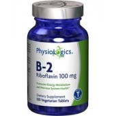 B-2 Riboflavin 100 mg (by Physiologic.)100 tabs