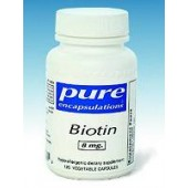 Biotin (Pure Encapsulations) 120 capsules