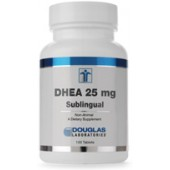 DHEA 25 mg sublingual (Douglas Labs) 120 Tabs