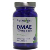 DMAE 100 mg (by PhysioLogics)100 capsules