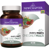 Every Man's One Daily 40+ Multi 72 Tablets New Chapter