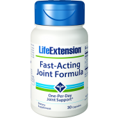 Fast-Acting Joint Formula  30 capsules (by Life Extension)