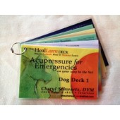 Heal/Learn Deck: Acupressure for Emergencies (Dog Deck 1)