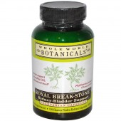 Royal Break-Stone Kidney-Bladder Support by Whole World Botanicals 120 capsules