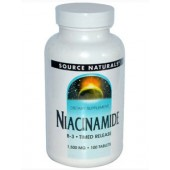Niacinamide TR (Source Naturals) 100 Tablets