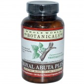 Royal Abuta Plus by Whole World Botanicals 120 capsules