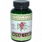Royal Camu capsules by Whole World Botanicals 140 capsules