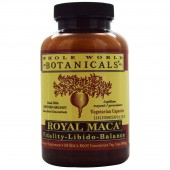 Royal Maca by Whole World Botanicals 180 capsules